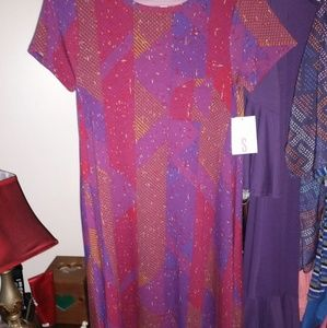 LulaRoe Carly dress, Small, NEW